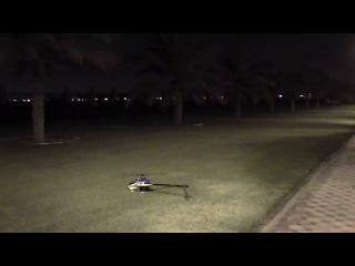 Мастерское управление моделью вертолета