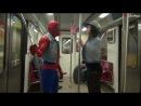 Человек-Паук в метро с девушкой| жесткое порно +18 (brazzers.com)